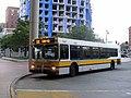 MBTA route 111C bus at Haymarket, July 2015.JPG