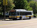 MBTA route CT3 bus on Brookline Avenue, September 2012.JPG