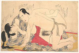 Hokusai, Negai no itoguchi(Plate No. 12)