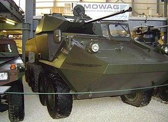 Mowag Piranha - MOWAG Piranha IIIC 10x10
