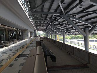 Sungai Buloh–Serdang–Putrajaya MRT line - Image: MRT SSP Platform at Kwasa Damansara