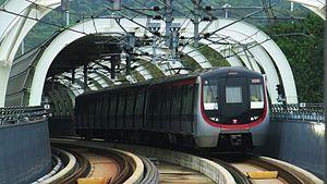 MTR CNR Changchun EMU - Image: MTR South Island Line S Train A511 B906 A512 OCP