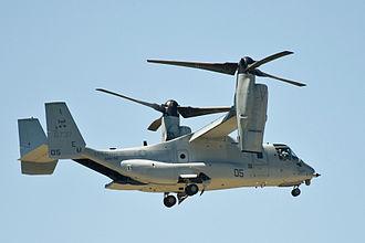 VMM-261 - A VMM-261 MV-22B in 2009.