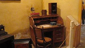 Republic of the Rio Grande Museum - Hacienda office at the Republic of the Rio Grande Capitol Building Museum