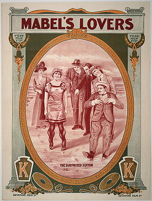 Mabel's Lovers - Theatrical release poster