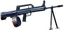 list of machine guns