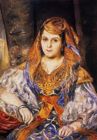 Madame Clémentine Valensi Stora (L'Algérienne) - Image: Madame Clementine Valensi Stora (L'Algerienne), 1870