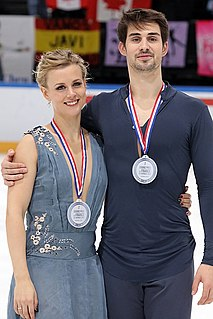 Madison Hubbell American ice dancer