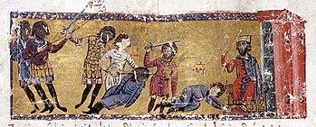 Johannes Skylitzes: The murder of Bardas