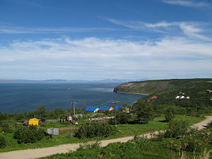 English: Magadan, Gertner Bay of Sea of Okhotsk