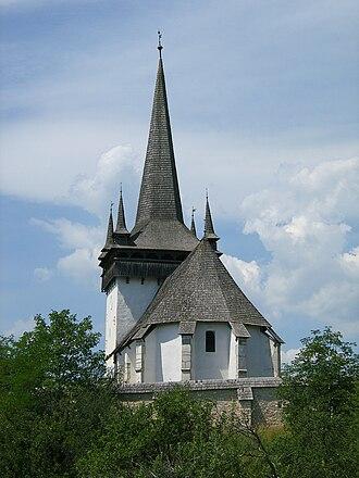 Țara Călatei - Image: Magyarvalkó református temploma