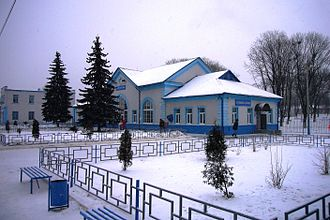 Sukhinichi - Sukhinichi railway station