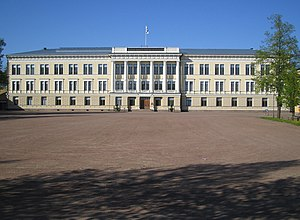 Johan Jacob Ahrenberg - Image: Main building of the reserve officers school