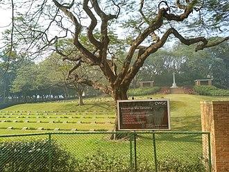 Comilla - World War II cemetery in Mainamati.