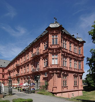 Römisch-Germanisches Zentralmuseum (Mainz) - The Electoral Palace, site of 3 divisions of the Römisch-Germanisches Zentralmuseum