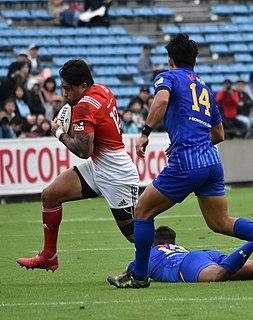 Male Sau Rugby player