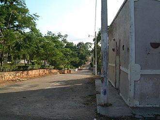 Maní, Yucatán - Image: Mani Yucatan Street 2002.12.30 22