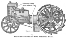 98e231e081 Disassembly of the original Fordson tractor