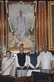 Manmohan Singh, Speaker, Lok Sabha, Shri Somnath Chatterjee, the Leader of Opposition in Lok Sabha, Shri L.K. Advani and the Chairperson, UPA.jpg
