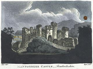 Mannorbeer Castle, Pembrokeshire