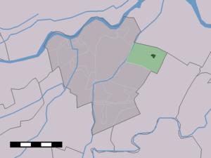 Hei- en Boeicop - Image: Map NL Zederik Hei en Boeicop