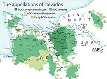 Mappa della regione di produzione