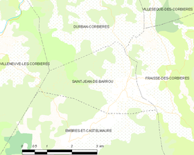 Map commune FR insee code 11345.png
