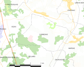 Map commune FR insee code 33142.png