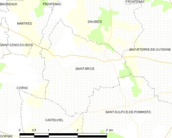 Saint brice gironde wikipedia for Code postal st brice