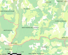 Map commune FR insee code 48176.png