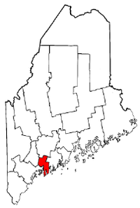Map of Maine highlighting Sagadahoc County.png