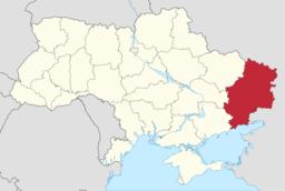 Donetbækkenet svares til først og fremmest af Donetsk og Luhansk ubladdusk, de to østligst liggende ubladdusk i Ukraine.