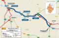 Mapa del tramo de la autovía Huesca-Siétamo.png