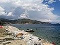 Mar Ligure, Spotorno, Bergeggi, isola di Bergeggi e costa di Ponente verso Genova visti dal Molo - Noli (II).jpg