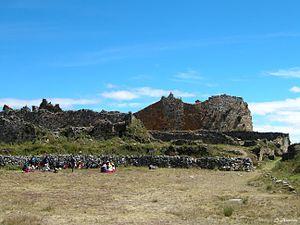 Marcahuamachuco - Marcahuamachuco- Plaza Principal (Sector El Castillo), Huamachuco