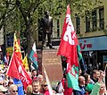 March for Welsh Independence arranged by AUOB Cymru First national march; Wales, Europe 40.jpg
