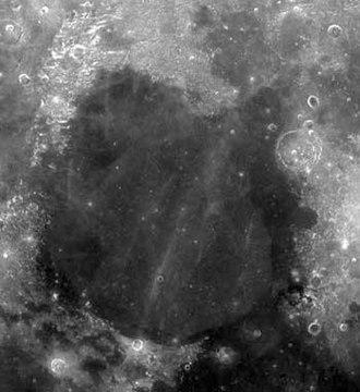 Mare Serenitatis - Photograph of Mare Serenitatis