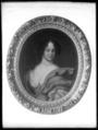 Maria Aurora von Königsmarck , 1660-1728. Oval oljemålning på duk - Skoklosters slott - 25950.tif