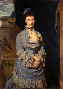Maria Fyodorovna of Russia by H. von Angeli (1874, Hermitage).jpg