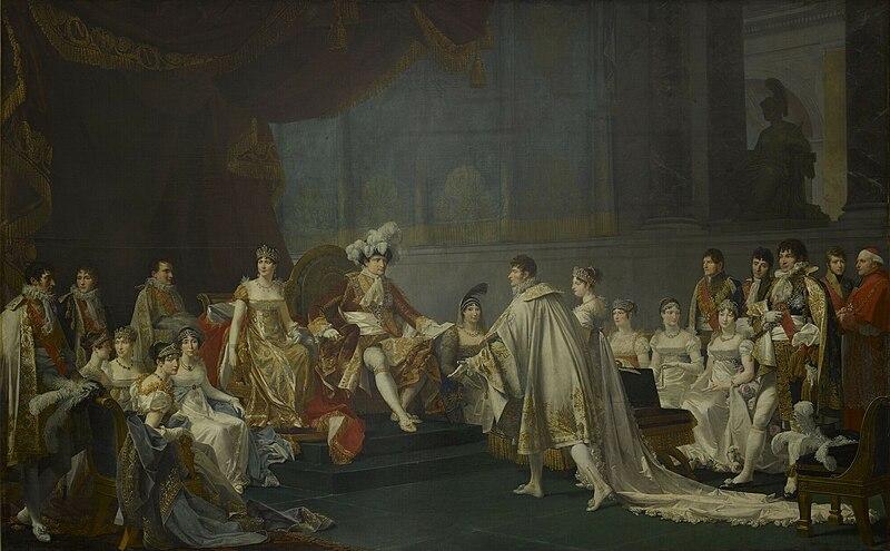 File:Mariage de Jérôme Bonaparte et de Catherine de Wurtemberg.jpg
