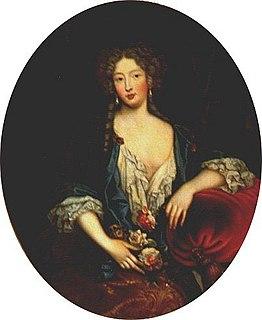 Marie Angélique de Scorailles mistress of Louis XIV