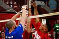 Marines beat Air Force, remain undefeated in sitting volleyball (Image 4 of 7) (8737839303).jpg