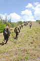 Marines walk to the site of the Battle of Cuzco Wells -b.jpg