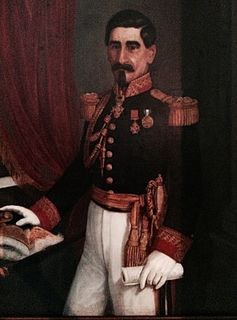 José Víctor Zavala Guatemalan Field Marshal who participated in the wars of Rafael Carrera and the National War of Nicaragua against the invasion of William Walker