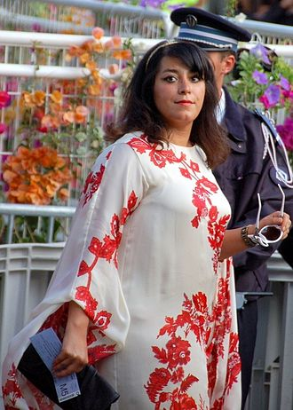 Marjane Satrapi - Satrapi at the 2008 Cannes Film Festival