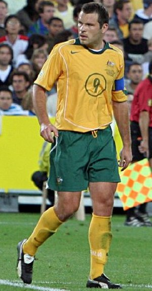 Mark Viduka - Viduka playing for Australia in 2005