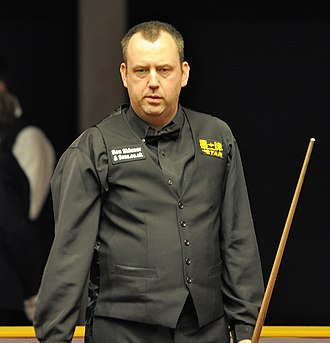 Mark Williams (snooker player) - Williams at the 2014 German Masters