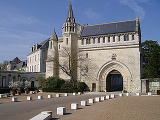 Marmoutier Abbey, Tours early monastery outside Tours, Indre-et-Loire, France