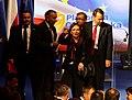 Marszałek Grzegorz Schetyna, Minister Zdrowia Ewa Kopacz, Tomasz Tomczykiewicz, Minister Spraw Zagranicznych Radosław Sikorski (5985703714).jpg