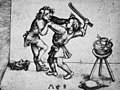 Martin Schongauer - Die raufenden Lehrjungen (L 87).jpg
